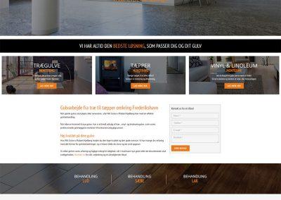 Webdesign RK-Gulve